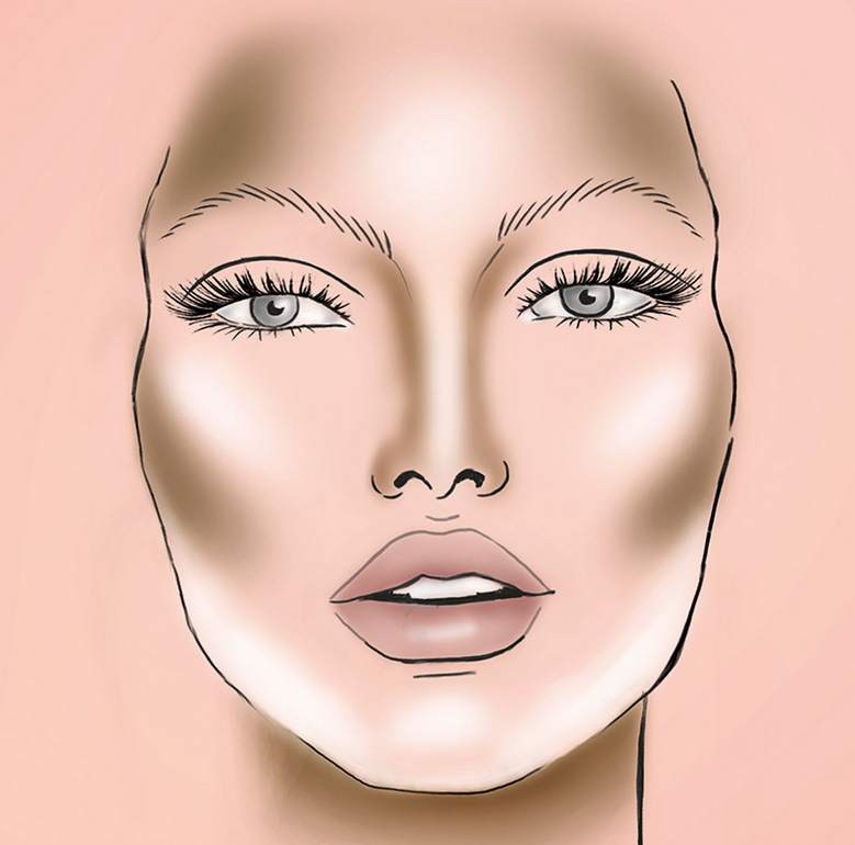 Contourning para esculpir rostro y estilizarlo