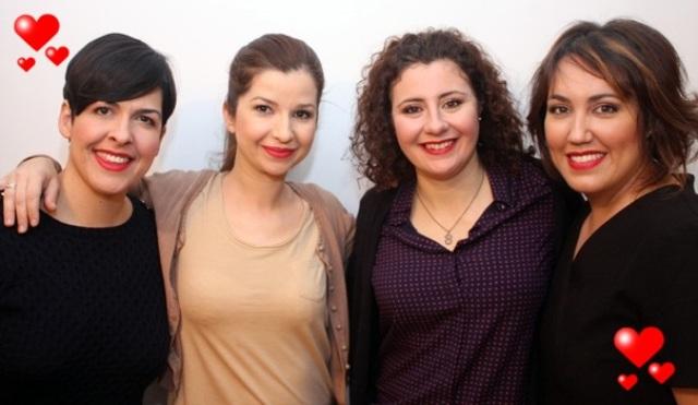 foto de grupo san valentín II