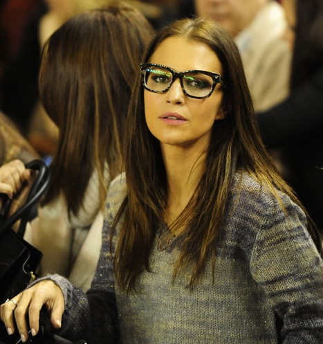 Paula Echevarría con gafas